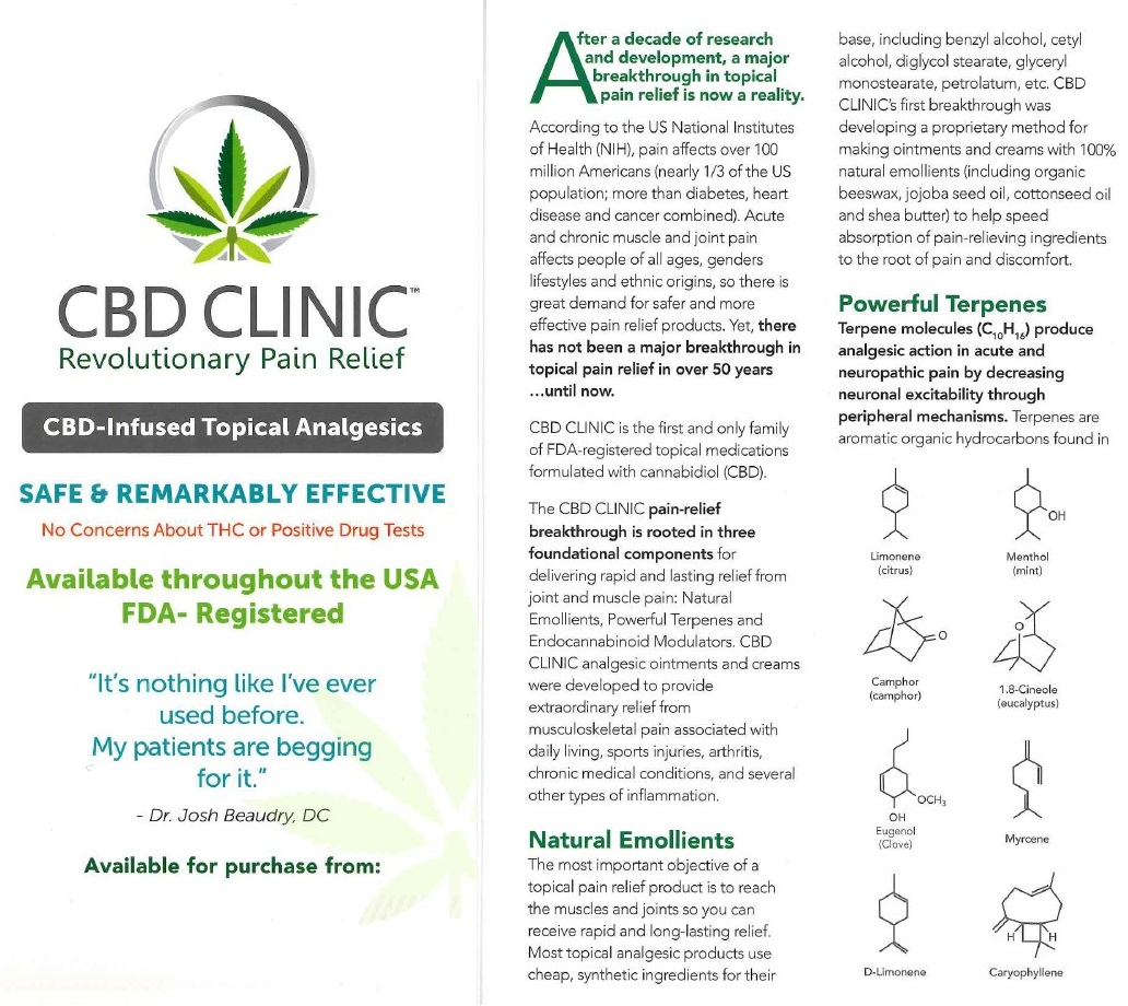 CBD Cream information