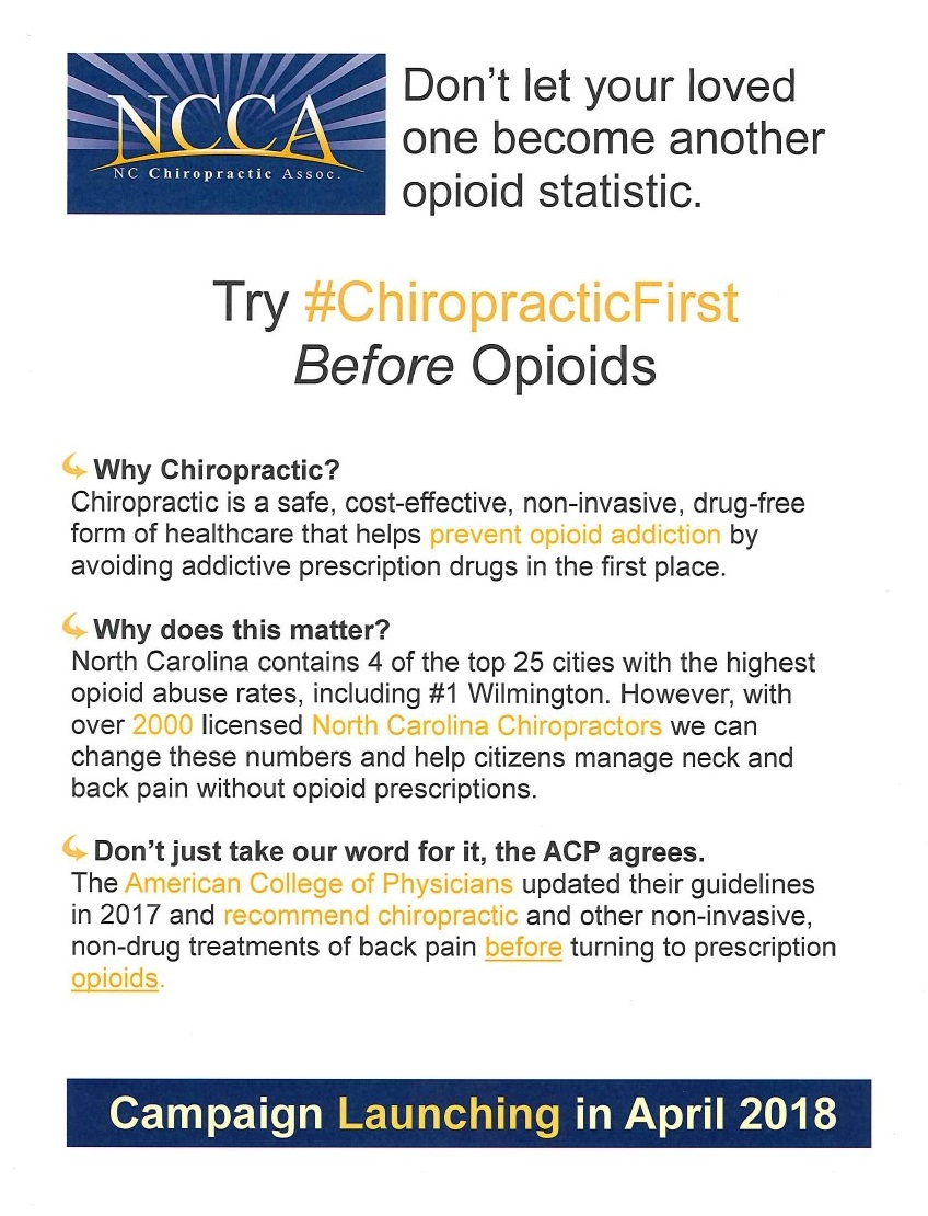 Trying Chiropractic First Before Opioids information